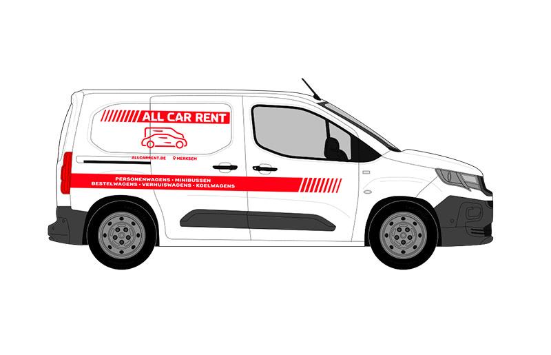 Peugeot Partner bestelwagen huren