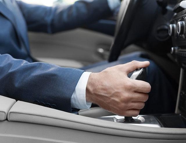 auto met automaat comfortable rijden