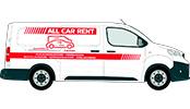 bestelwagen huren All Car Rent
